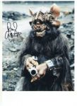 Richard Gauntlett DOCTOR WHO  Genuine signed Autograph 10 x 8 COA  222